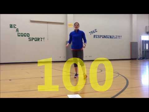 100th Day of School Workout 2015