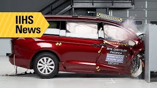 New crash tests and LATCH ratings for minivans - IIHS News
