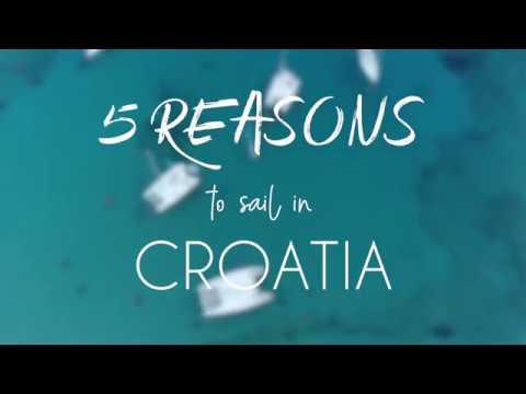 5 reasons to sail in Croatia
