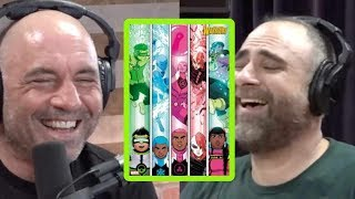 Joe Rogan Learns About the Most SJW Comic Book Ever Made