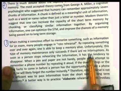 ปี 2556 วิชา ภาษาอังกฤษ ตอน วิเคราะห์ข้อสอบ (Reading Comprehension) ตอนที่ 3