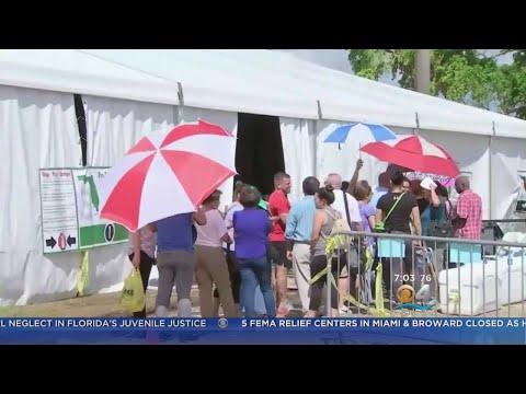 5 FEMA Relief Centers In Miami & Broward At Capacity
