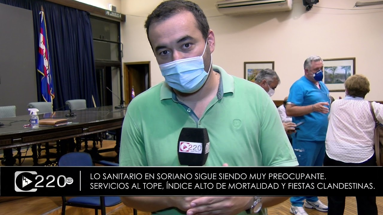 Se reunió el CDE y sigue siendo muy preocupante la realidad sanitaria de Soriano