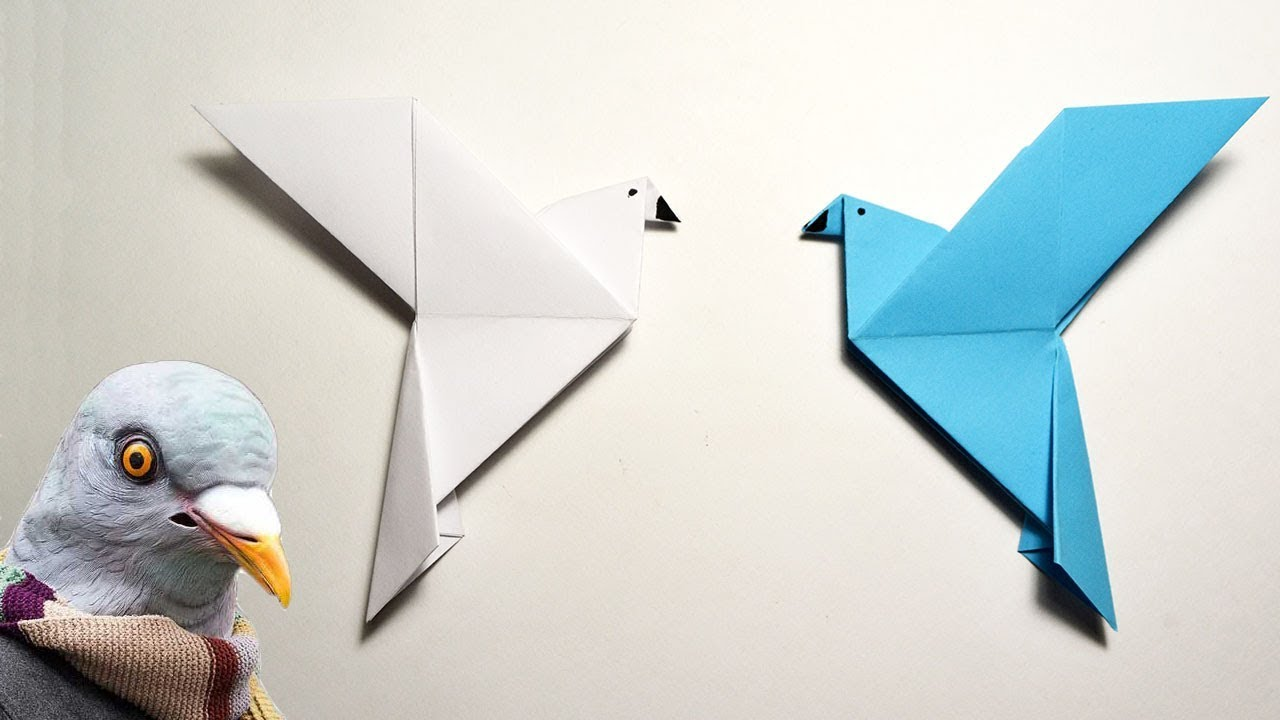19 Best Origami doves / birds images | Origami dove, Origami ... | 720x1280