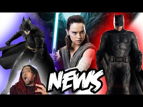 Ben Affleck's last movie as Batman, Star Wars shills get even more ridiculous & TDK theatrical!!