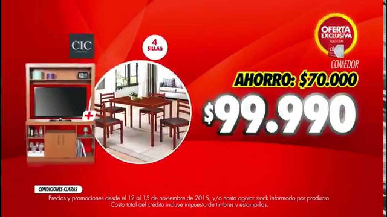 abcdin - Combo Comedor + Estante - YouTube