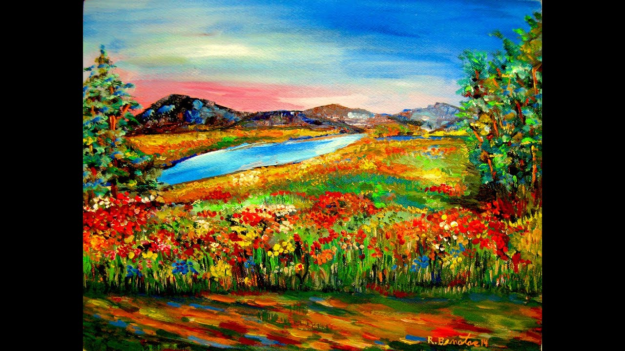 Acryllic Impressionist Paintings