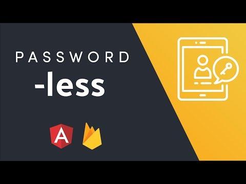 Passwordless Authentication with Firebase