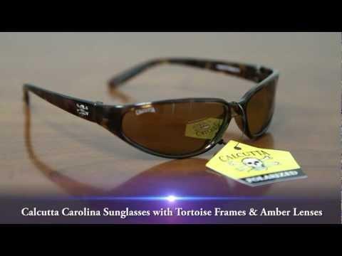 Calcutta Carolina Sunglasses With Tortoise Frames & Amber Lenses