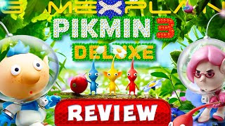 Pikmin 3 Deluxe - REVIEW (Nintendo Switch) (Video Game Video Review)