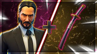 "Top 5 BEST ""JOHN WICK"" SKIN + BACK BLING COMBINATIONS in Fortnite"