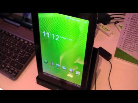 Acer Iconia Tab A100 with Honeycomb Hands On