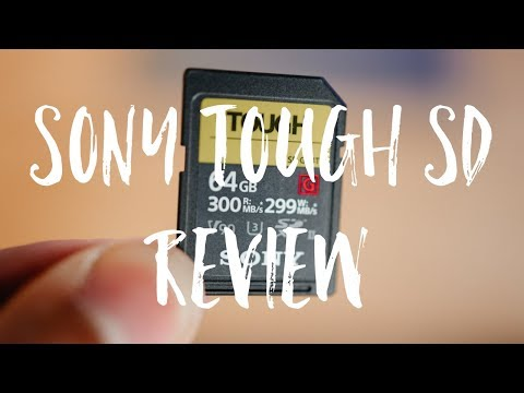Sony Tough SD Card Review   Best SD Cards in the Market