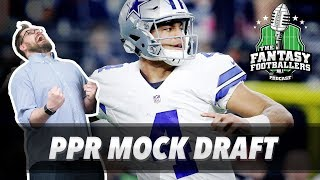 Fantasy Football 2017 - Mock Draft Madness + Good Situations - Ep. #420 Free HD Video