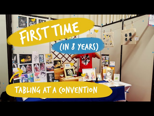 First time tabling at a convention