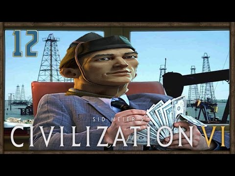 WAR AND OIL - Civilization VI - Japanese Gameplay - Part 12 | Civ 6 Full Release Let's Play