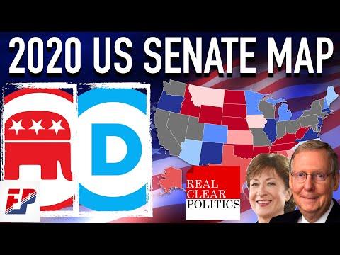 2020 Senate Prediction   Map & Analysis