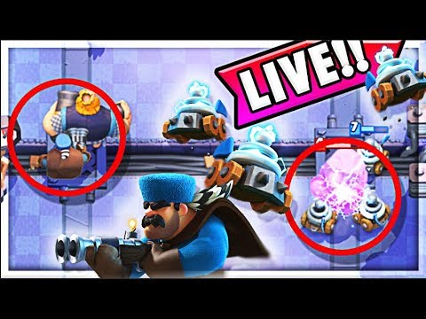 UPDATE LIVE!!!   Hunter & Zappies Gameplay (Molt Clash Royale)