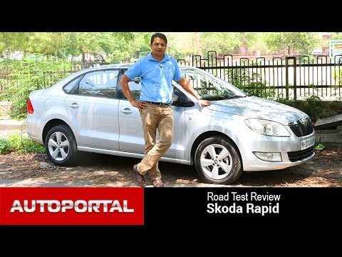 Skoda Rapid Test Drive Review – Autoportal