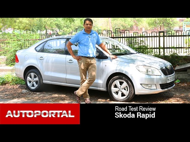 Skoda Rapid Test Drive Review - Autoportal