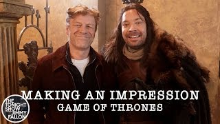 Making an Impression: Game of Thrones - Principal Photography Pt. 3