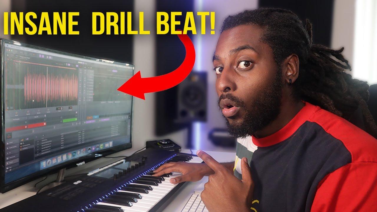 I Made an INSANE Drill Beat Using a FREE DAW