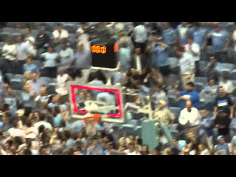Carolina Alma Mater and Fight Song after UNC beats Duke 2-20-2014