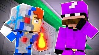 Minecraft Daycare - HERO SCHOOL !? (Minecraft Roleplay)