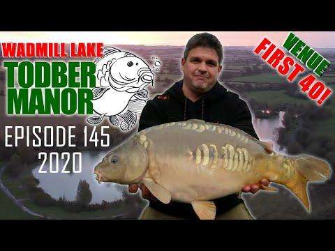 Back Of The Landing Net - Episode 145 - Wadmill Lake Todber Manor Fisheries October 2020