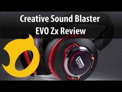 Review: Creative SoundBlaster Evo ZX Gaming Headset