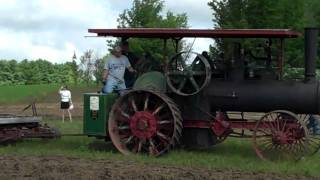 Steam Tractors Plowing at the Buckley MI Old Engine Show