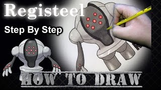 How To Draw Registeel Step By Step