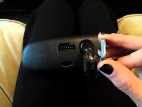 Removing Rear View Mirror Button Youtube