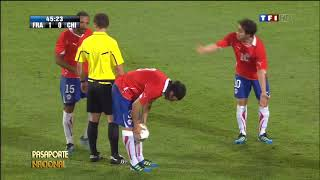 Jorge Valdivia Vs Francia - Tv francesa [10-08-2011]