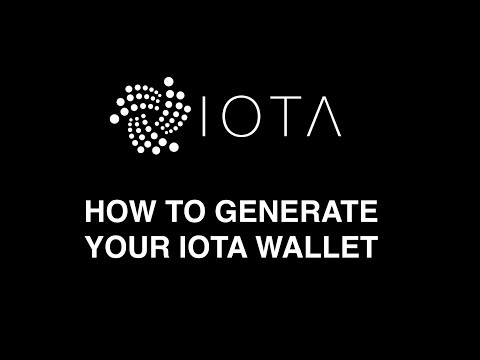 How To Set Up Your  IOTA Wallet