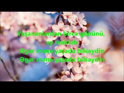 Çimnaz Talıbova - Ey məktəb (lyrics)