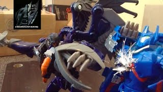 Transformers Prime Legacy Ep 16 - Ultra Magnus vs Darksteel Stop Motion