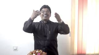 KA Abraham latest youtube message 2013 video 2 - Taste and see that The Lord is good