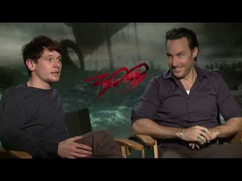 300: Rise of an Empire (2014) Exclusive Callan Mulvey & Jack OConnell Interview [HD]