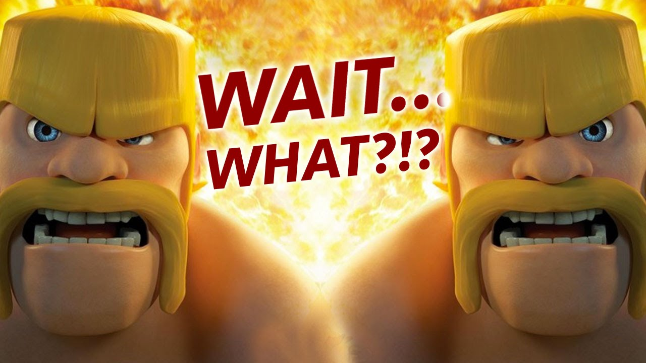 10 Clash of Clans Game Concepts That MAKE NO SENSE