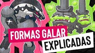 Formas Galar EXPLICADAS  | EBaru