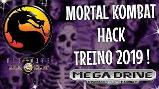 Mortal Kombat HACK TREINO P/ Mega Drive !