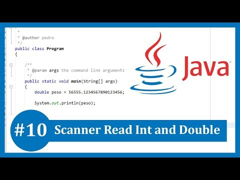 Learn Java Tutorial #10 - Scanner Read Int and Double thumbnail
