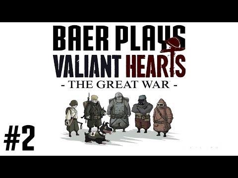 Baer Plays Valiant Hearts (Pt. 2) - Freddie Got Frightening - 동영상