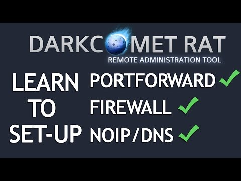 How to setup DarkComet 5.3.1 and make a RAT 2018 - YouTube