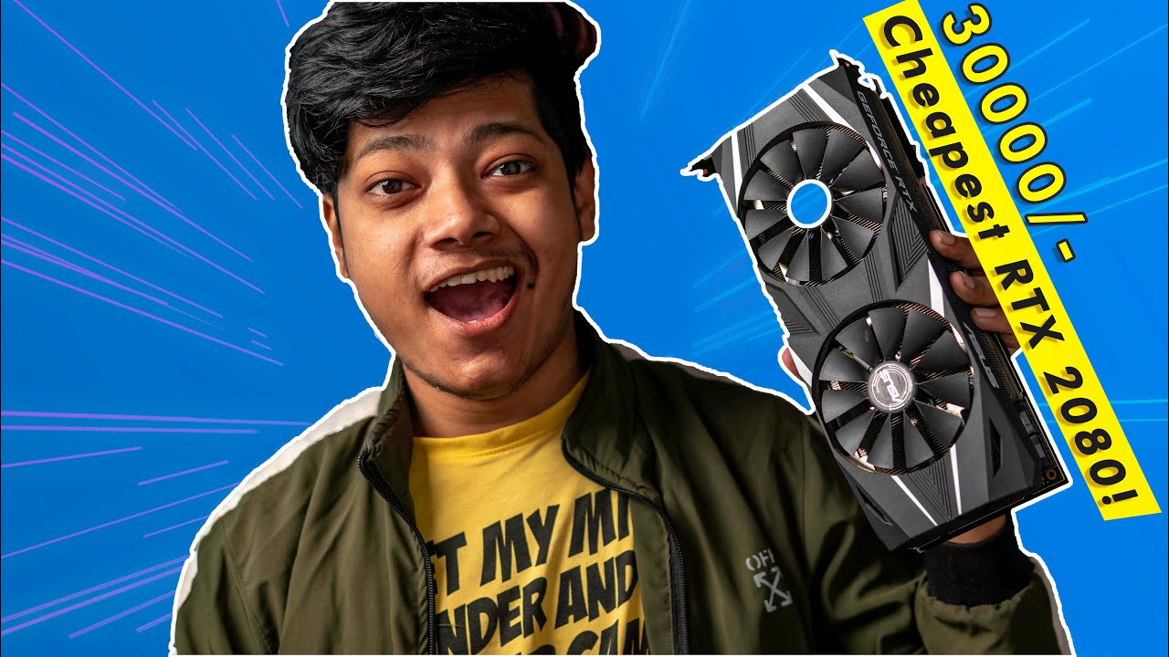 I Bought The Cheapest RTX 2080 | Should you Buy Used GPUs ? Playing Cyberpunk at 60FPS