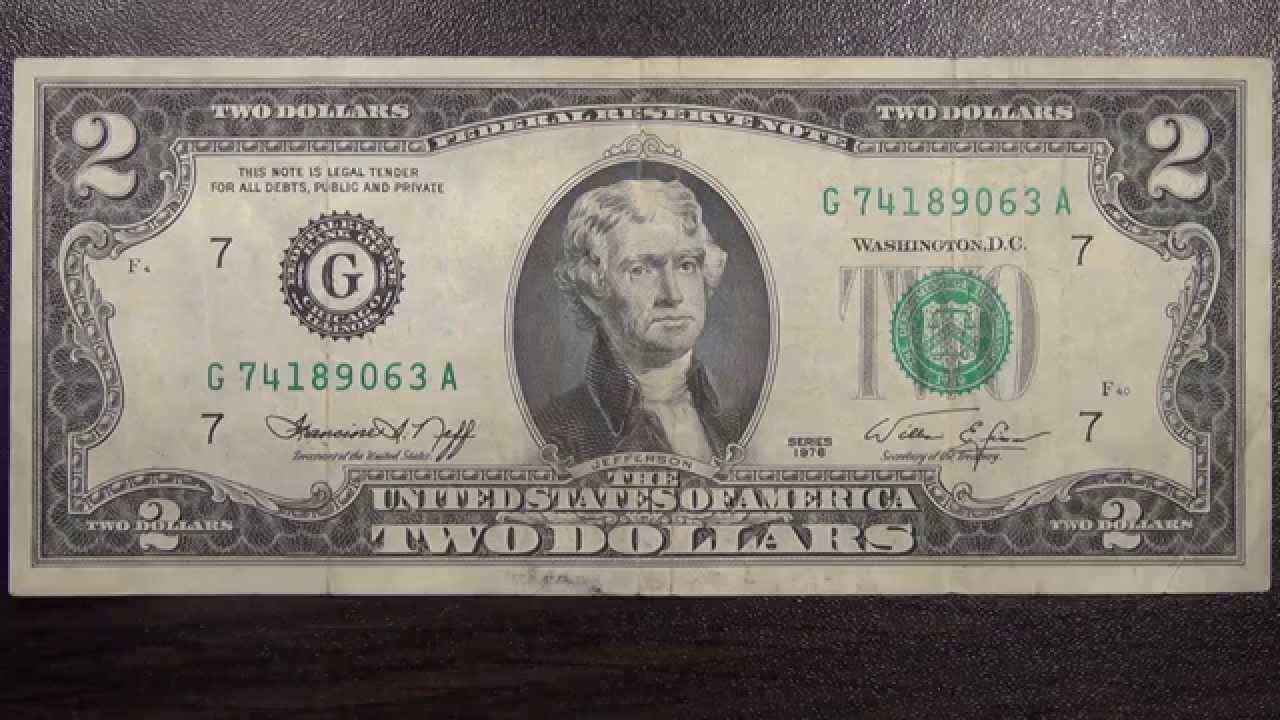 2 доллара одной купюрой 1976 года цена сколько стоит серебро в сбербанке на сегодня