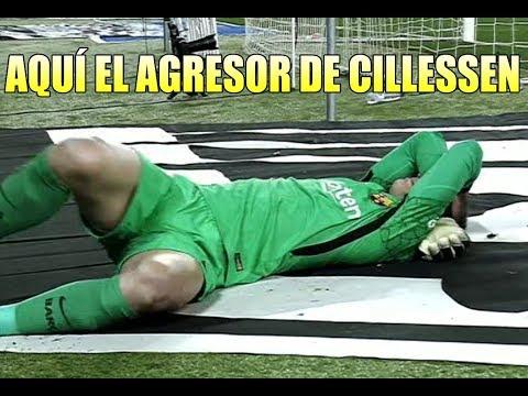Espanyol vs Barça / Aquí el AGRESOR de Cillessen 17/01/2018