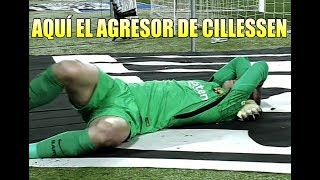 Espanyol vs Bara  Aqu el AGRESOR de Cillessen 17012018