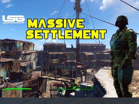 Fallout 4 - Massive Castle Settlement (Tour)